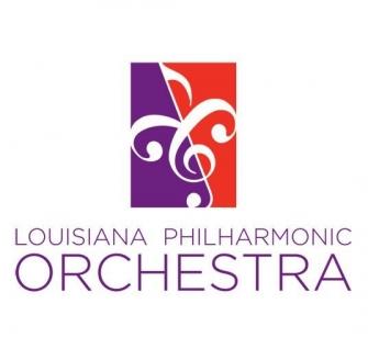 Louisiana Philharmonic Orchestra New Orleans Logo