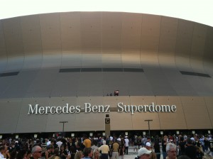Super Bowl in Mercedes-benz Superdome