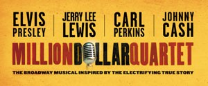 Million Dollar Quartet Broadway Theater in New Orleans