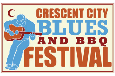 Crescent City Blues & BBQ Festival New Orleans Logo