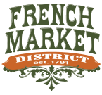 Historic French Market New Orleans Logo
