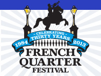 French Quarter Festival 2013 Logo