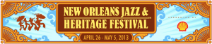 New Orleans Jazz and Heritage Festival 2013 Logo