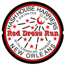 New Orleans Red Dress Run Logo