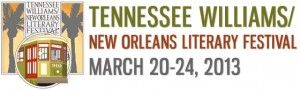 New Orleans Tennessee Williams Festival 2013 Logo