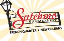 Satchmo Summerfest New Orleans Festivals Logo