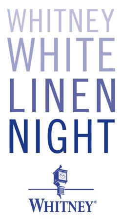 Whitney White Linen Night 2013 New Orleans Festival Logo