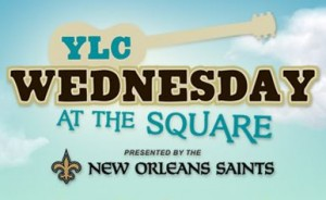 YLC Wednesday at the Square New Orleans Music Logo