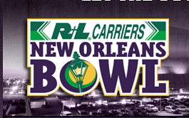 R+L Carriers New Orleans Bowl 2013 Logo