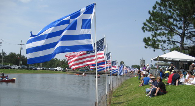 New Orleans Greek Fest celebrates Hellenic culture by the banks of Bayou St. John. (Photo courtesy Infrogmation)