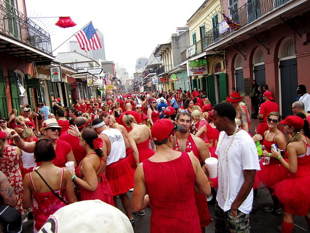 New Orleans Red Dress Run 2016