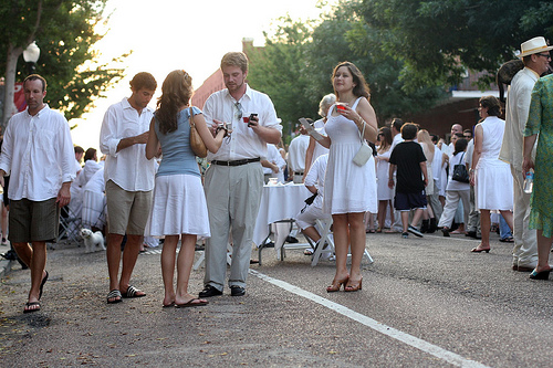 Whitney White Linen Night