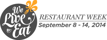 We Live to Eat Restaurant Week