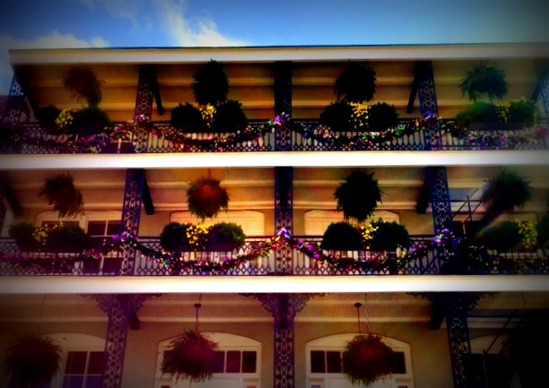 balcony decorations bienville house