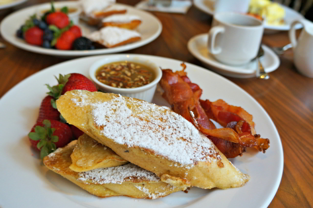 Visit our sister hotel's restaurant, Criollo, to sample their delicious take on French toast, Pain Perdu.