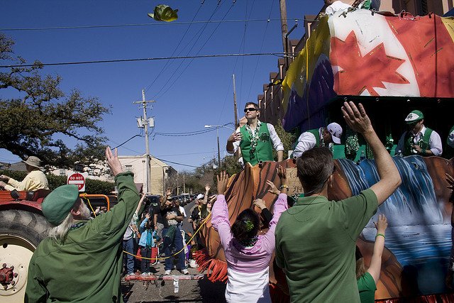 Celebrate St. Patrick's Day 2017 in New Orleans
