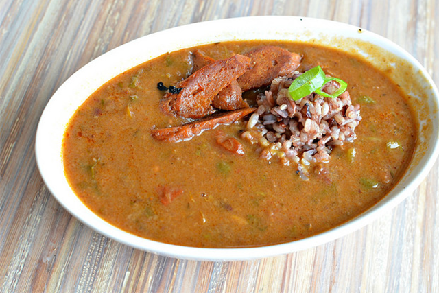 Traditional New Orleans Gumbo. Photo: stephanie