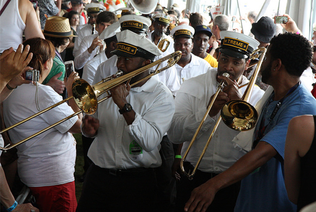 The Treme Brass Band. Photo: kawarski