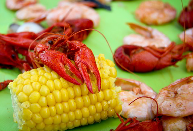 Springtime in New Orleans means crawfish season. (Photo courtesy Laity Lodge Youth Camp, via Flickr)