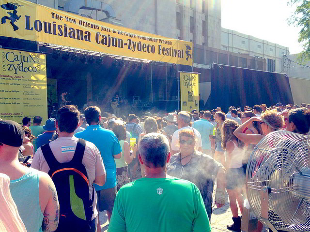 The 10th annual Louisiana Cajun-Zydeco Festival takes place at Armstrong Park in the French Quarter, June 18-19, 2016. (Photo by Flickr user regan76)