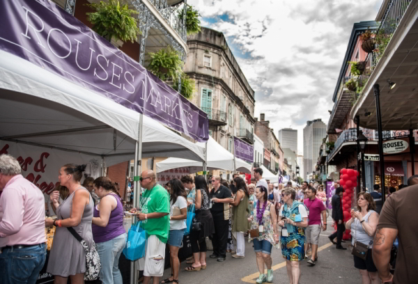The Royal Street Stroll is one of the highlights of New Orleans Wine & Food Experience. (Photo courtesy NOWFE)